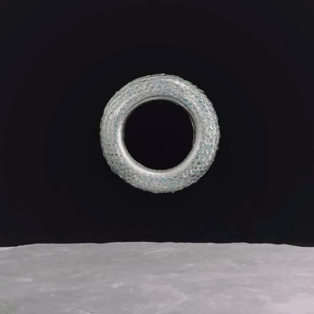 Sphere creatures in space 02
