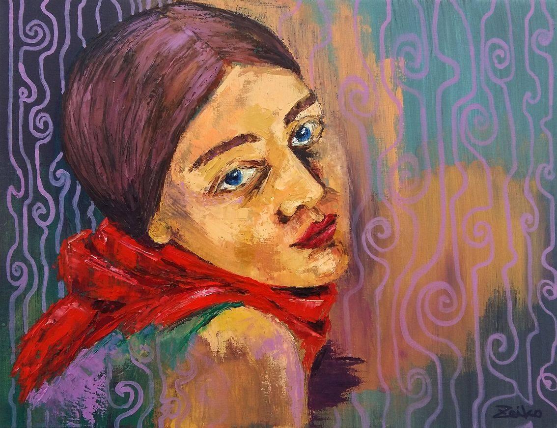 Serenity Bild Ihres Kunstwerks an der Wand