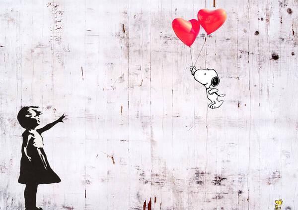 Snoopy aime Banksy