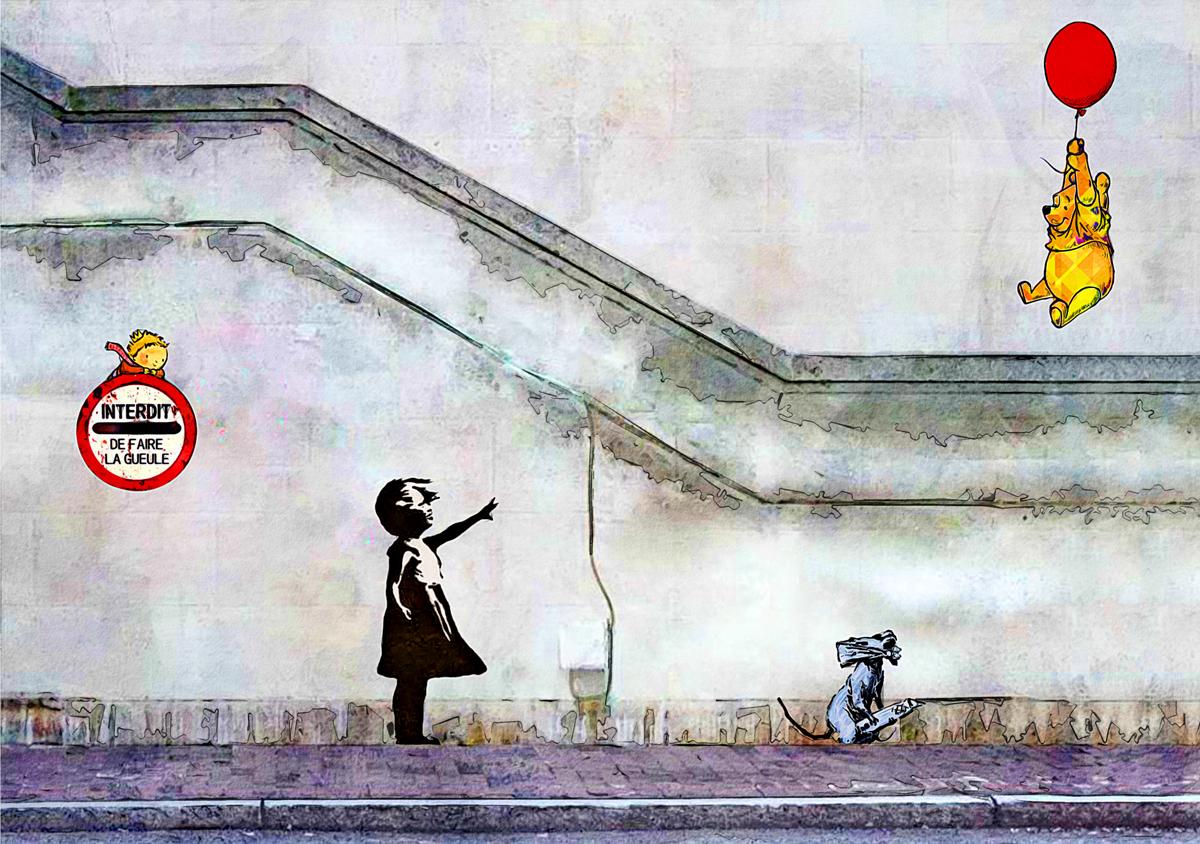 Banksy.. Interdit de faire la Gaule