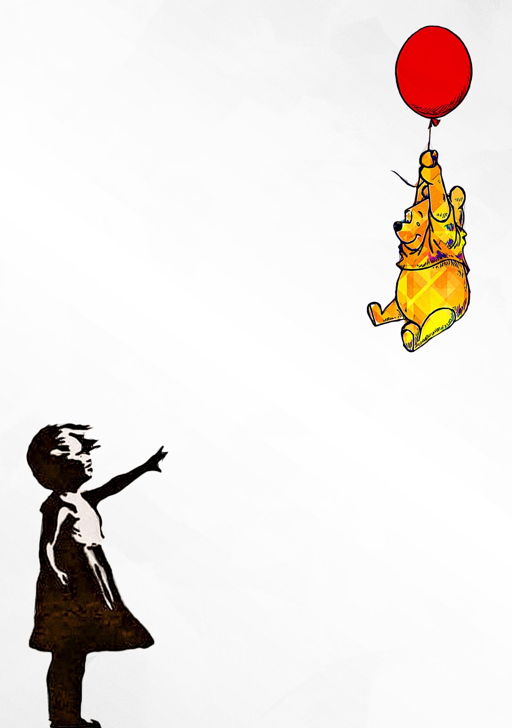Banksy, bye bye Winnie