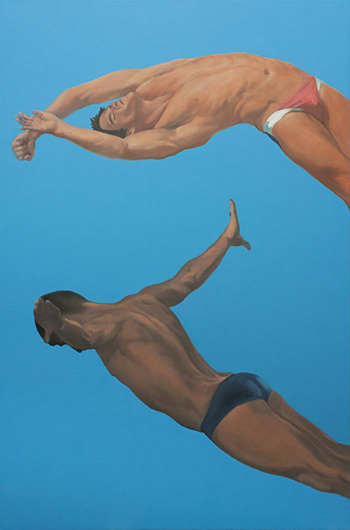 Divers in the sky