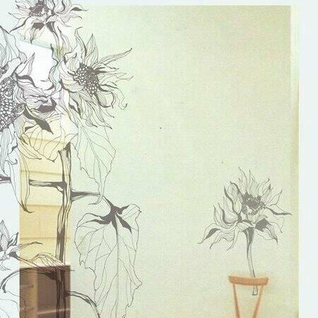 プロフィールのイメージ / At the Art Studio