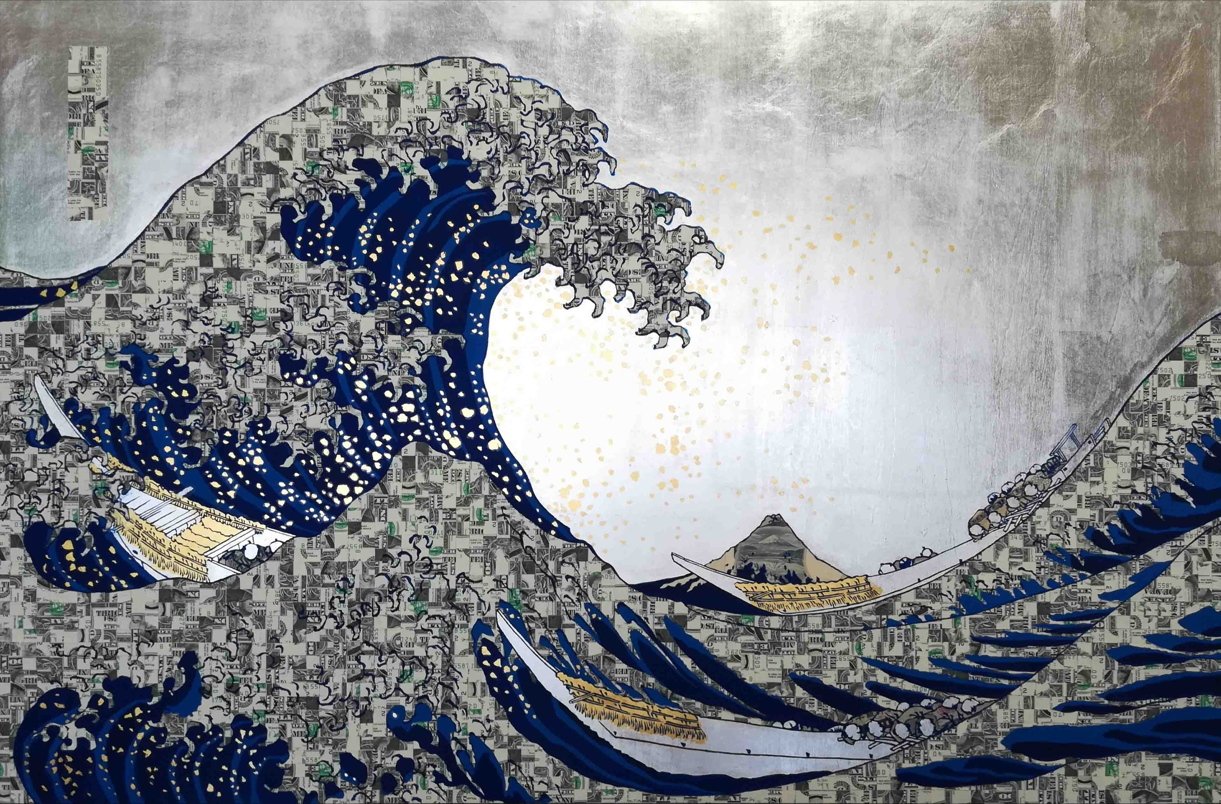 Automatic Wave $B55875035D Prussian blue