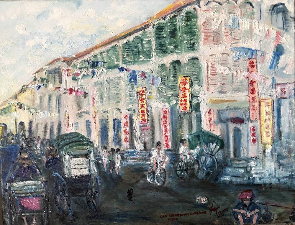 Pagoda Street, Chinatown Singapore (1930s)