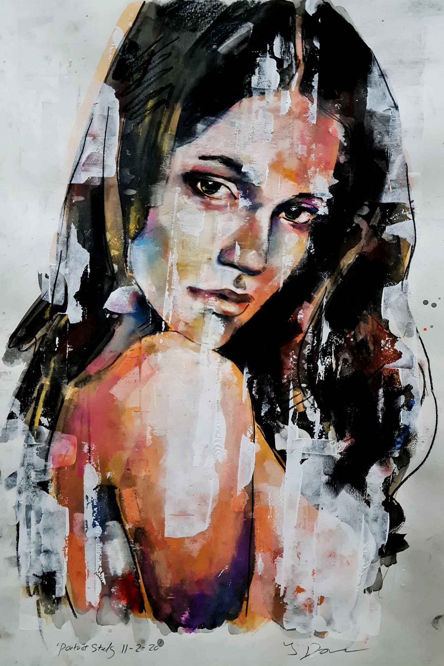 portrait study 11-2-20