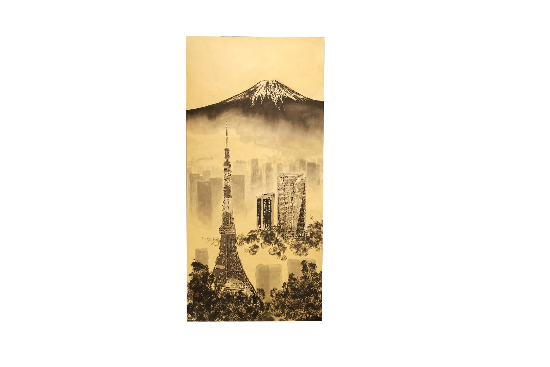 冨嶽東京図 / Mt.Fuji and Tokyo