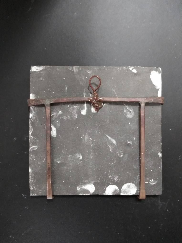 Wall-mounted ceramic board