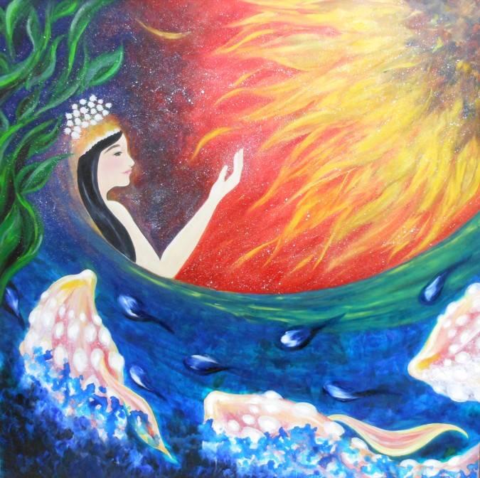 夜明けの女神