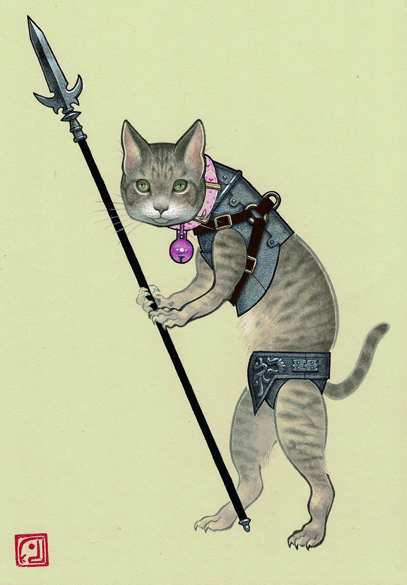 Infantry (crossbreed cat)