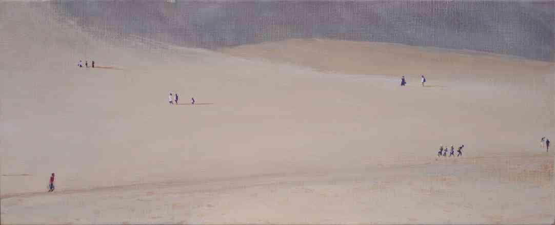 Dunes(wide) あなたの作品が壁にかかっているイメージ