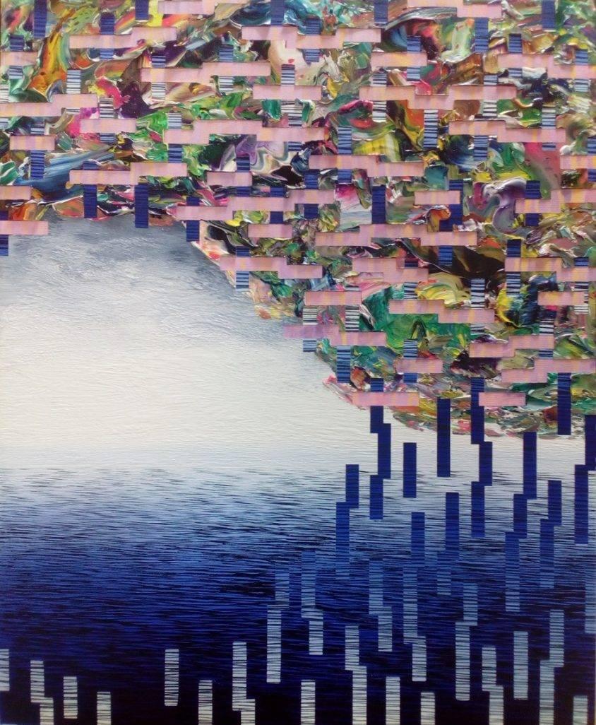 空ろの間 #21 Bild Ihres Kunstwerks an der Wand
