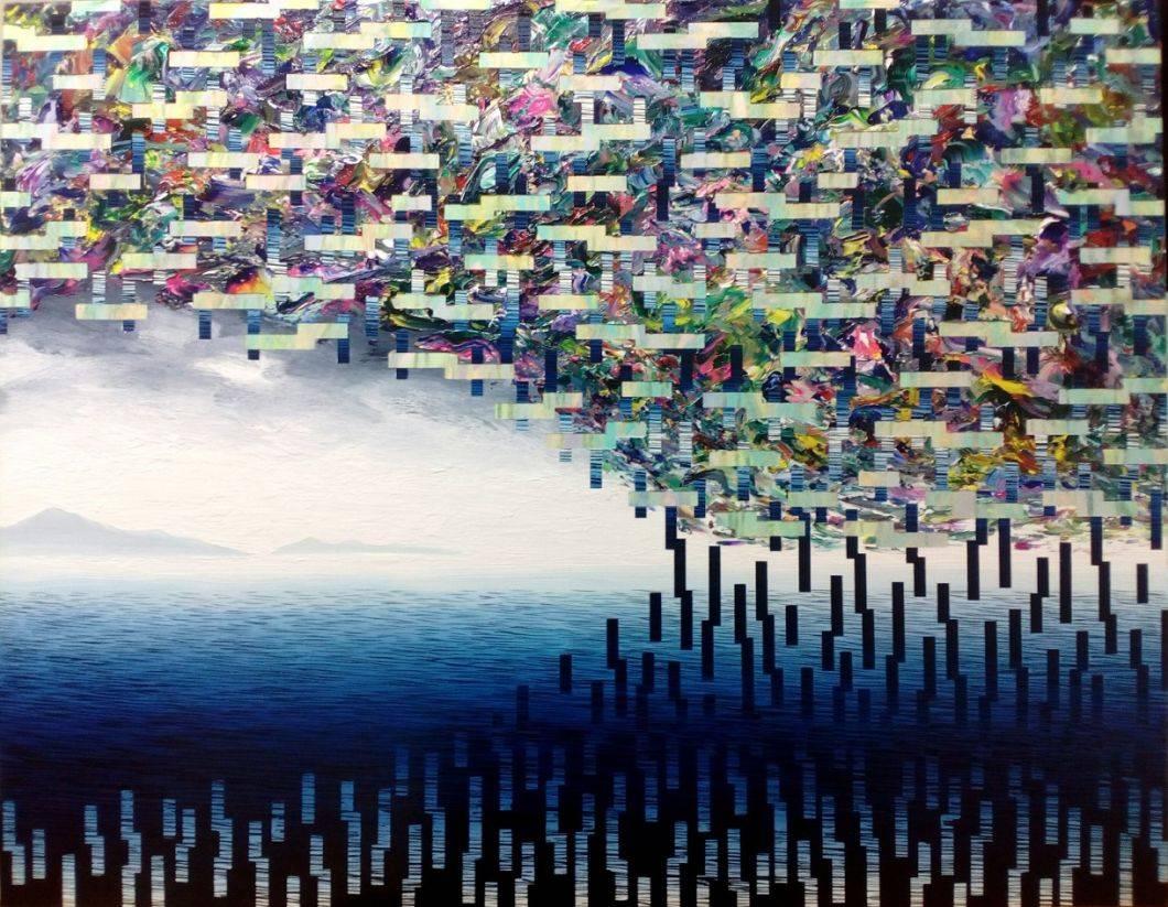 空ろの間 #34 Bild Ihres Kunstwerks an der Wand