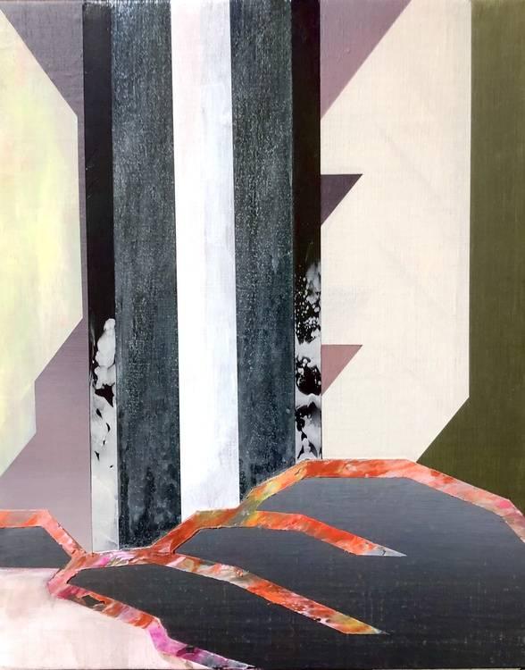 Yoro falls Bild Ihres Kunstwerks an der Wand