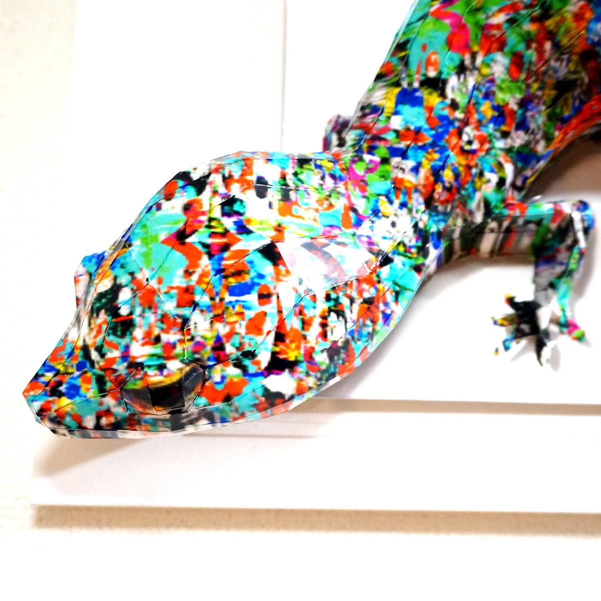 Giant, psychedelic lizard cares about its neighbors