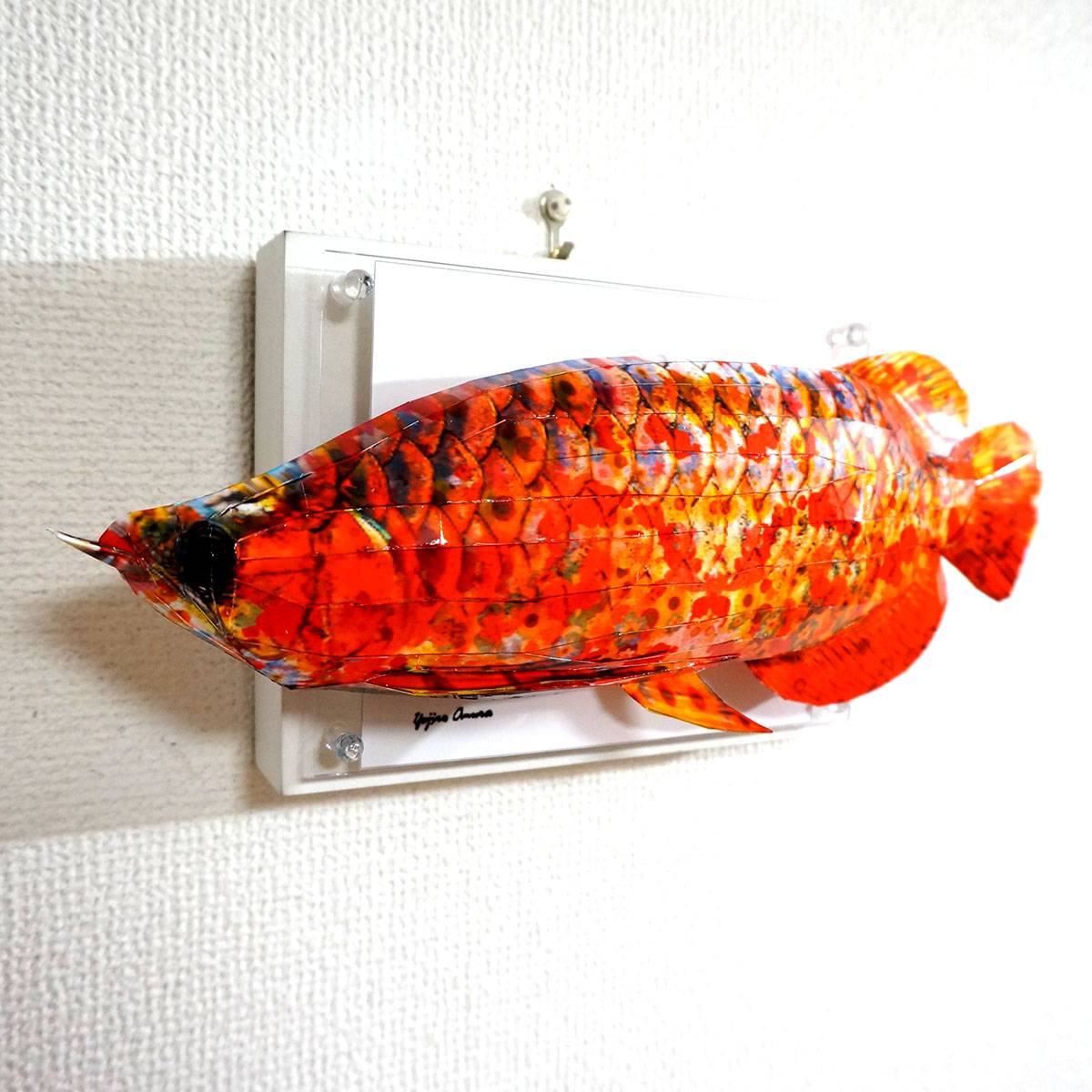Flowery arowana doesn't fit in the panel ED:7/10