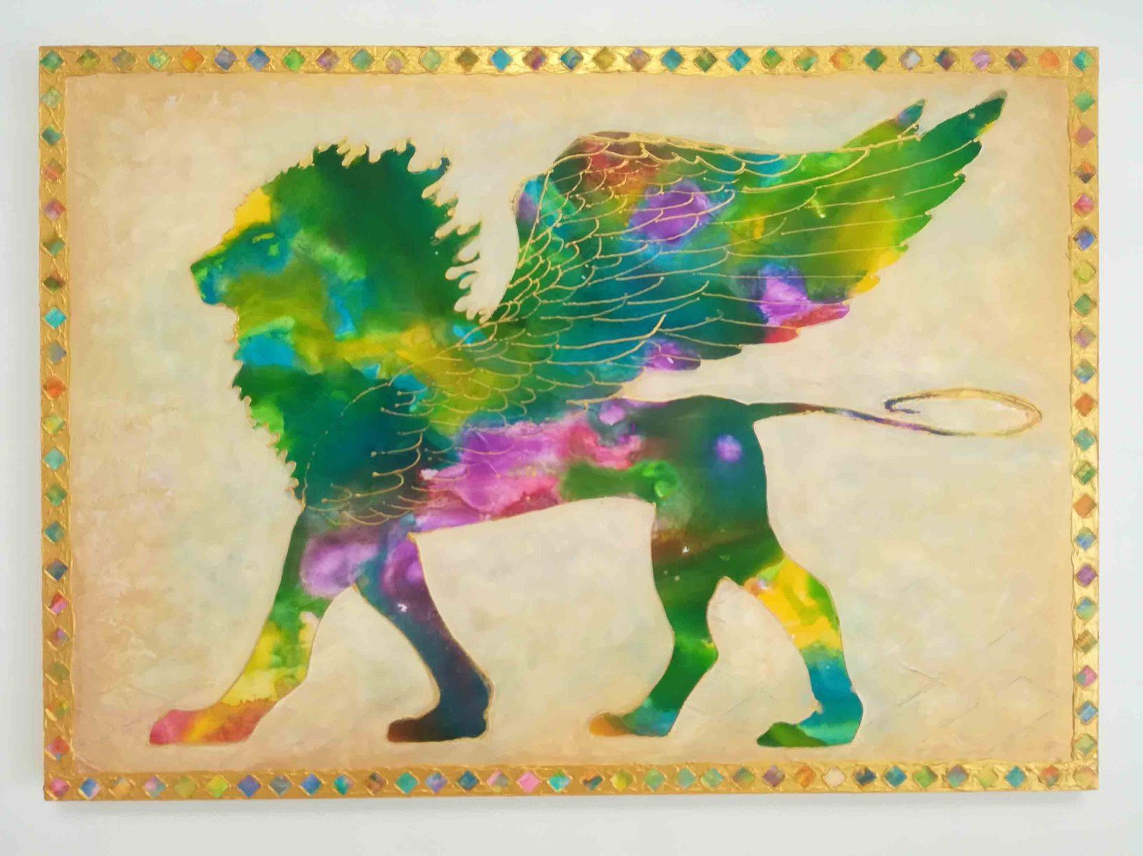 Millennium Kingdom Holy Beast Rainbow Griffon「to make good out of evil corona」