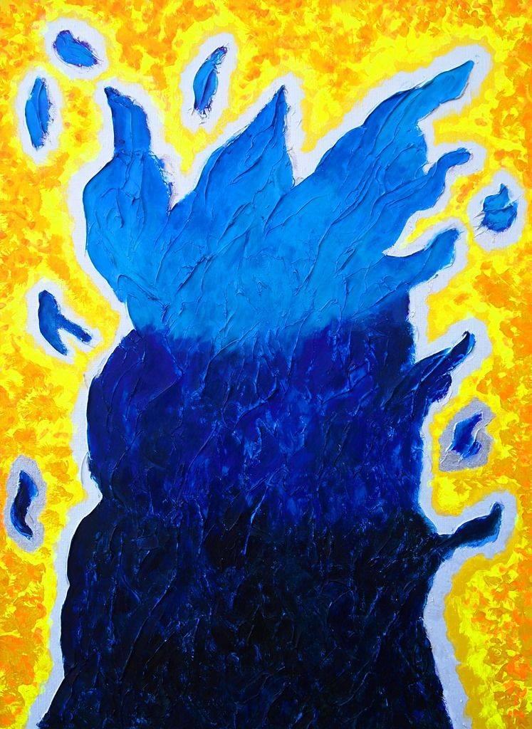 青い炎 #2 / Blue flame #2