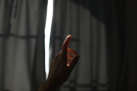 ひとすじの光