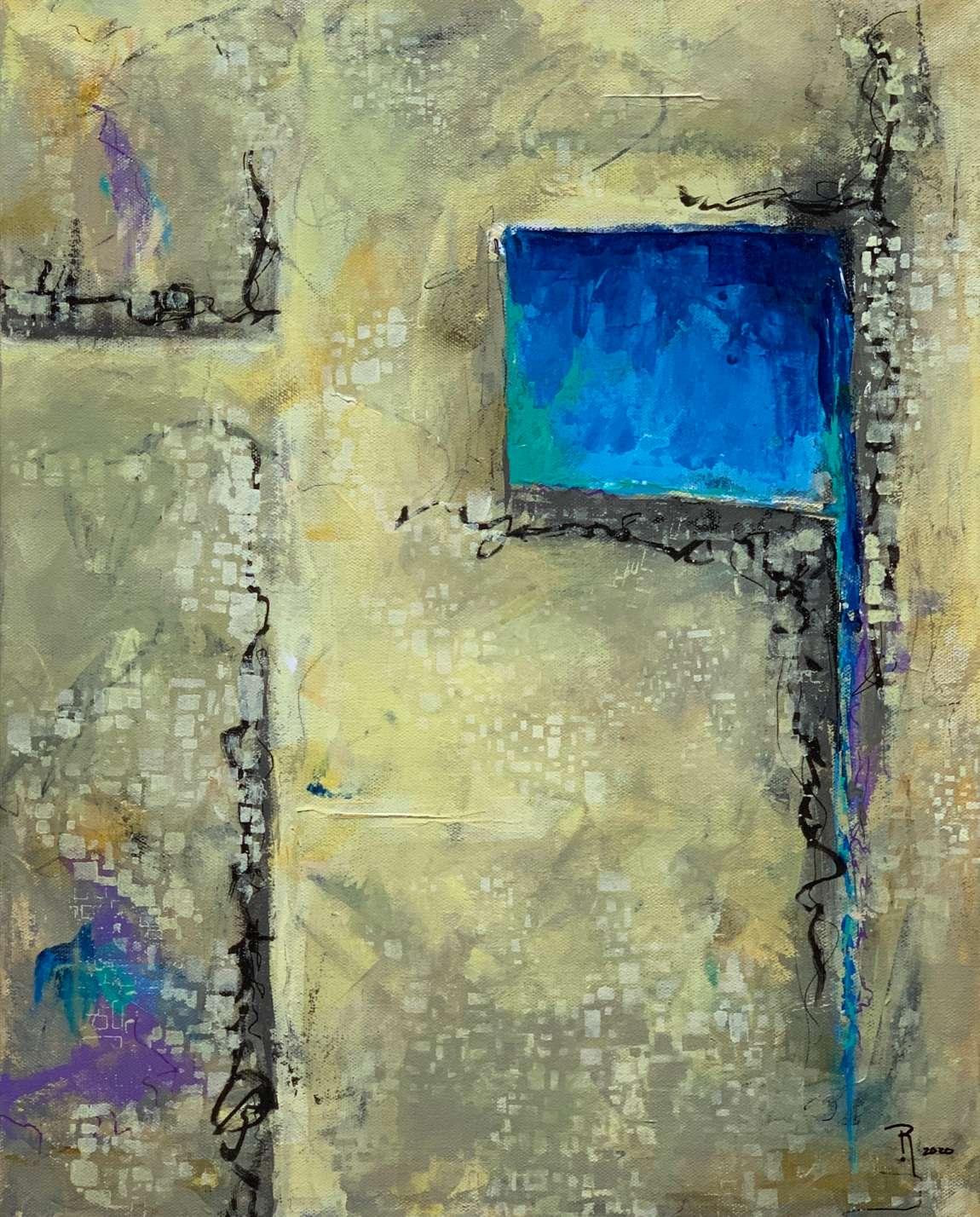 Untitled (20-17) Bild Ihres Kunstwerks an der Wand