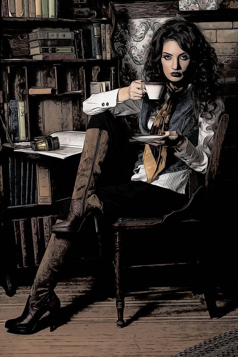 Comicon Vigaro Bild Ihres Kunstwerks an der Wand