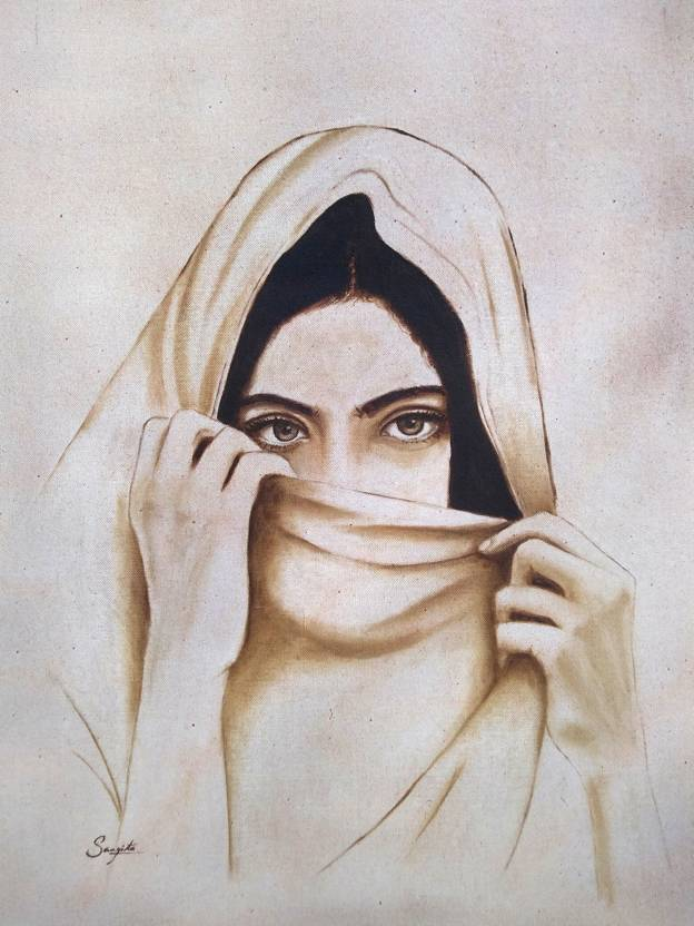 Girl Behind The Veil