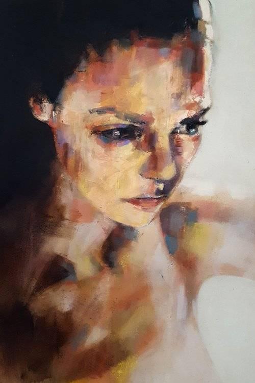 portrait study 9-10-19