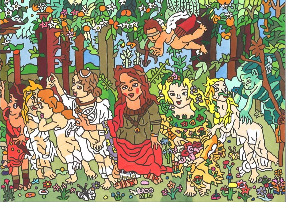 Botticelli・Spring