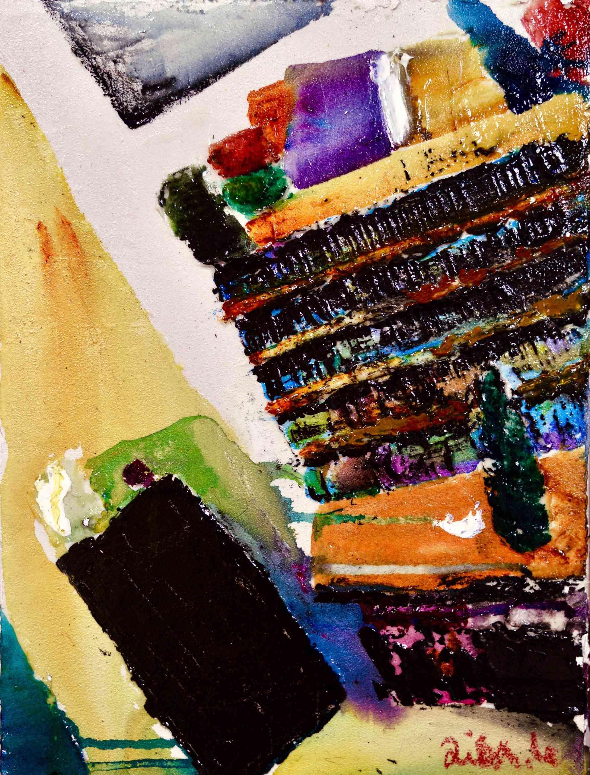 a certain room Bild Ihres Kunstwerks an der Wand