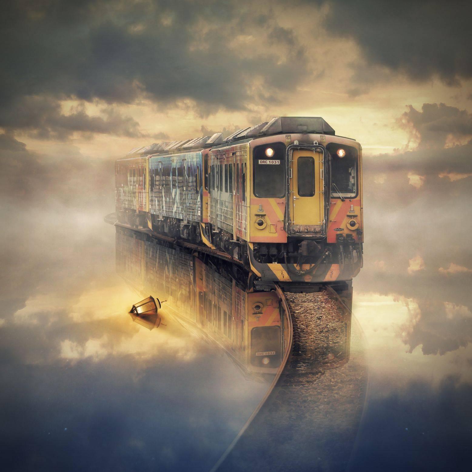 Train on Sea