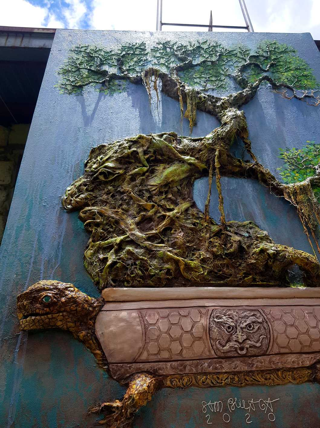 6,735 years old Ficus Bonsai tree