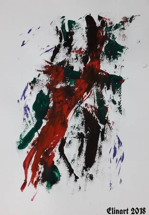 The Dreamer No 55 Bild Ihres Kunstwerks an der Wand