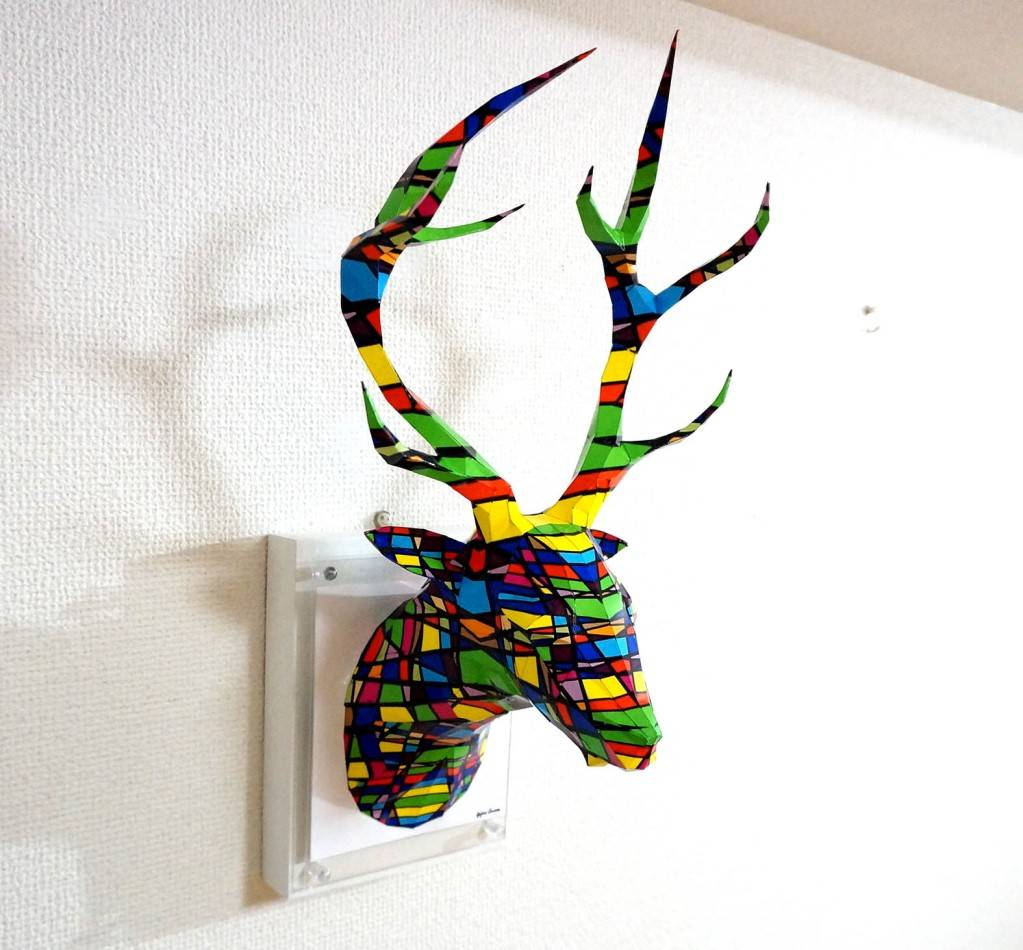 A Deer with Colorful Grid Pattern ED:4/5