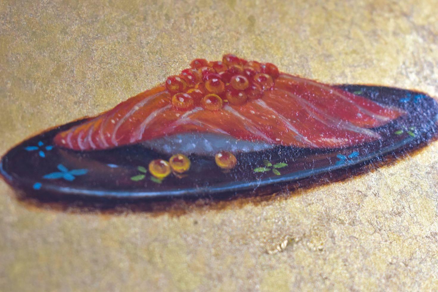サーモンいくら Salmon and roe