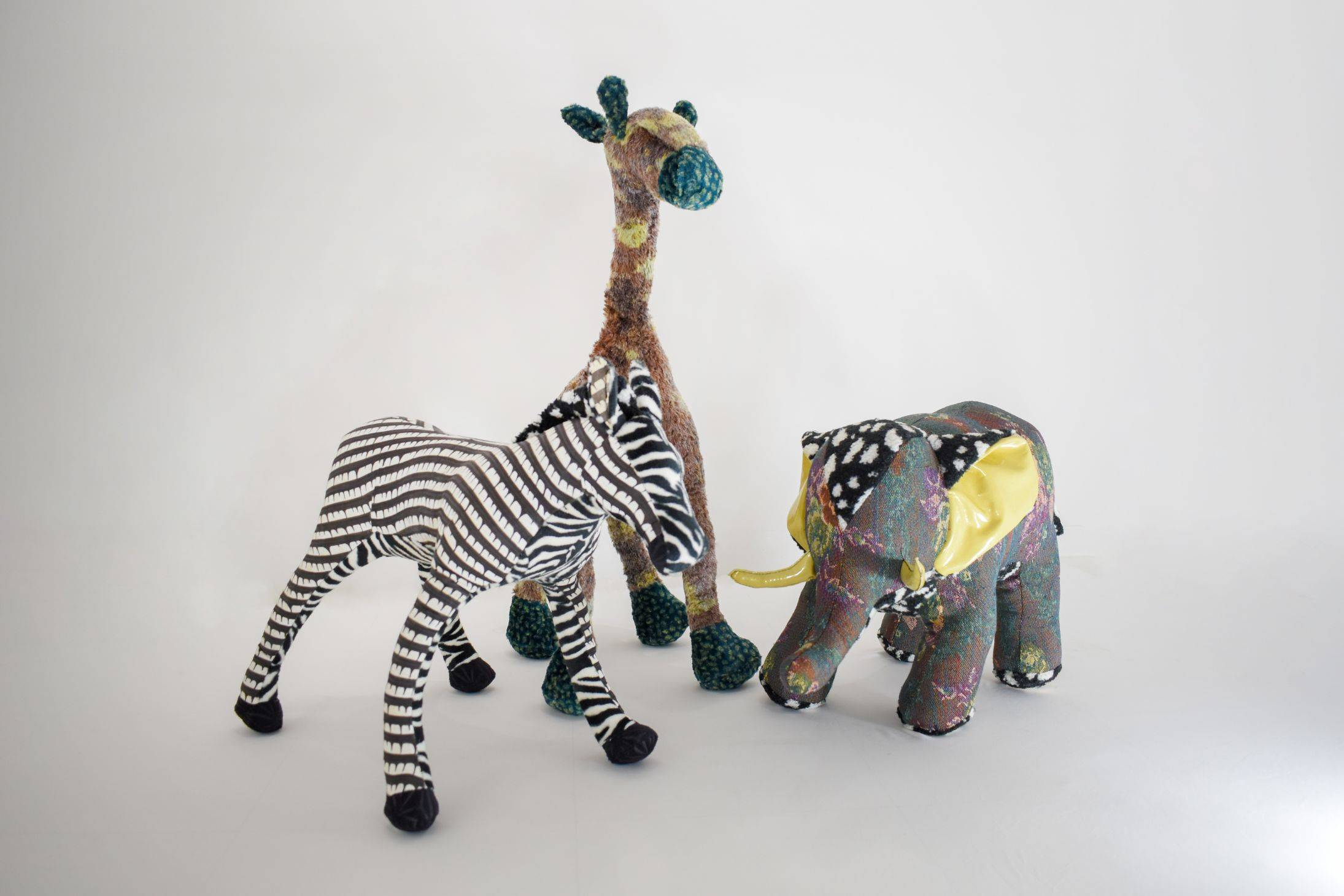 PoisonGiraffe, DropsZebra, FlourElephant (Safari Set)