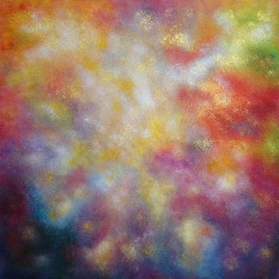 Joy of abundance Bild Ihres Kunstwerks an der Wand