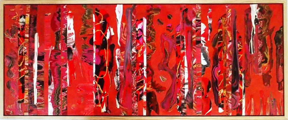 Raspberry Crush Bild Ihres Kunstwerks an der Wand