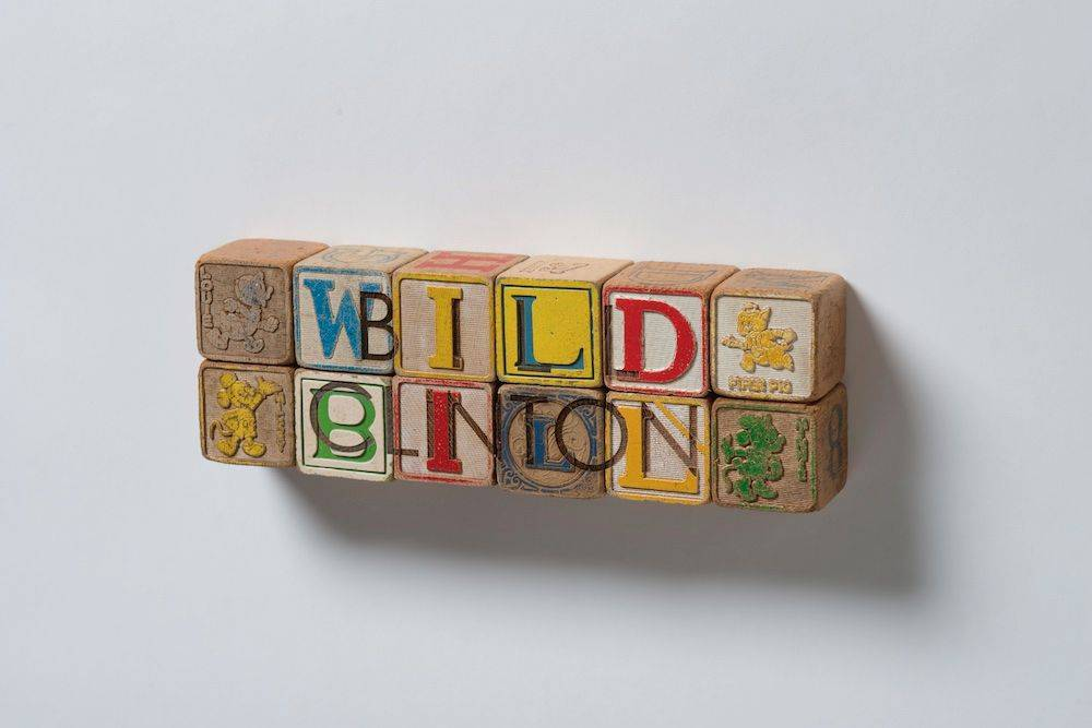 DJT Alphabet Blocks: Bill Clinton