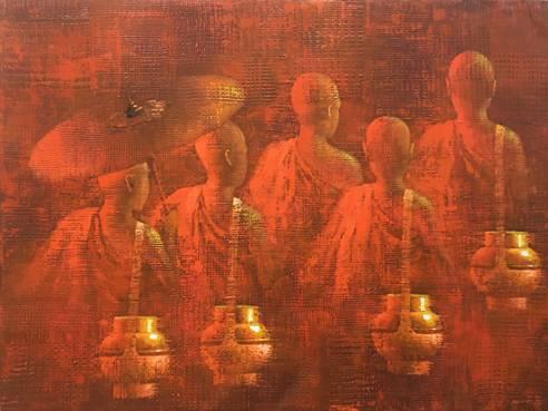 Memory of monks (3) – 2020