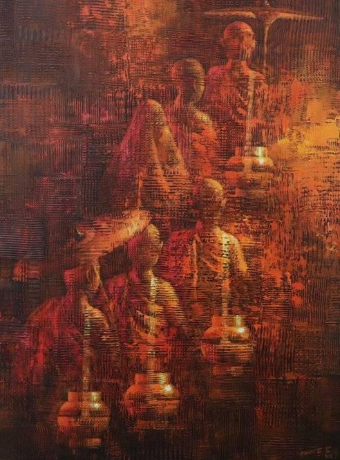 Memory of monks (6) – 2020