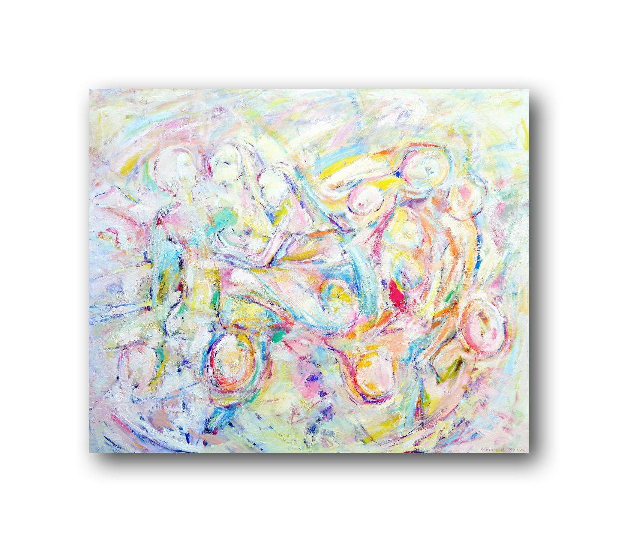ONLY LOVE Bild Ihres Kunstwerks an der Wand
