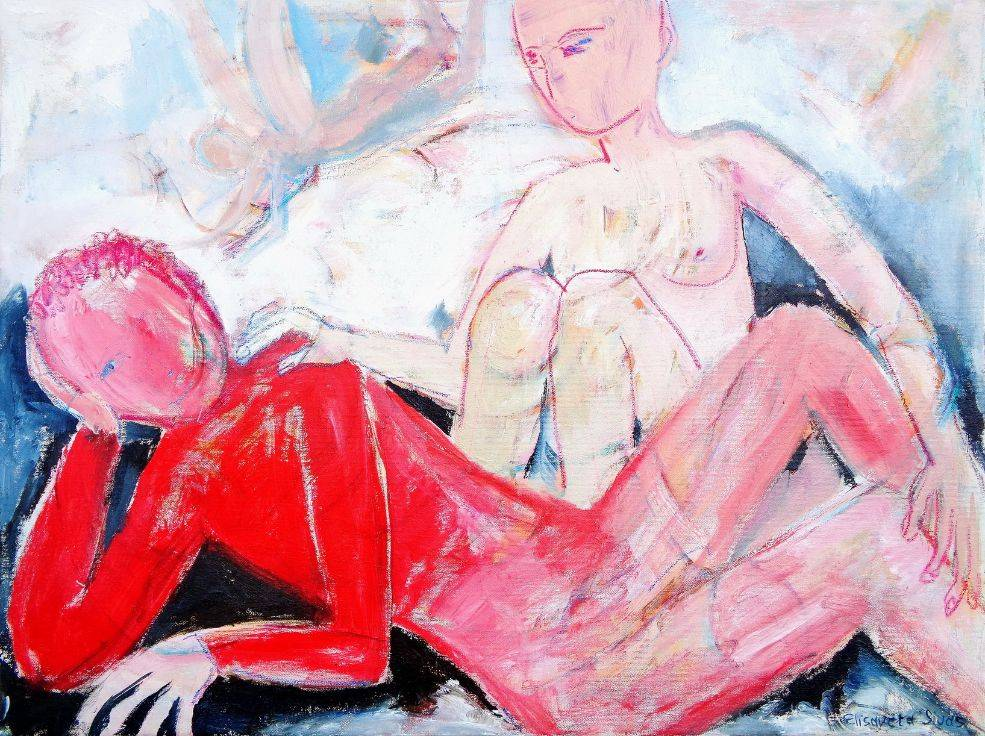 Dreaming Love Bild Ihres Kunstwerks an der Wand