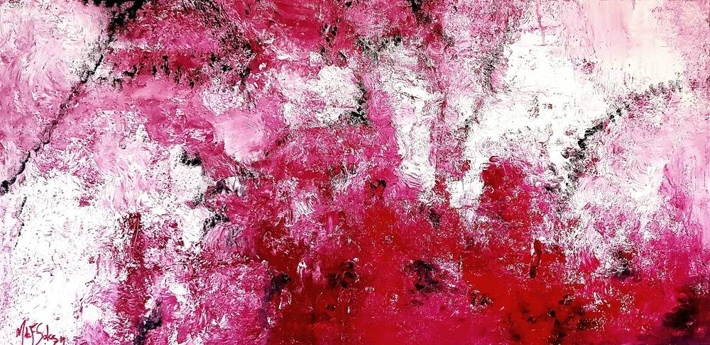 Cherry Image of your art work hanging on the wall