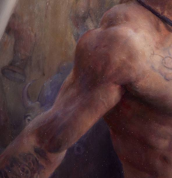 Mean Machine, Portrait of a Strongman Victor Blud