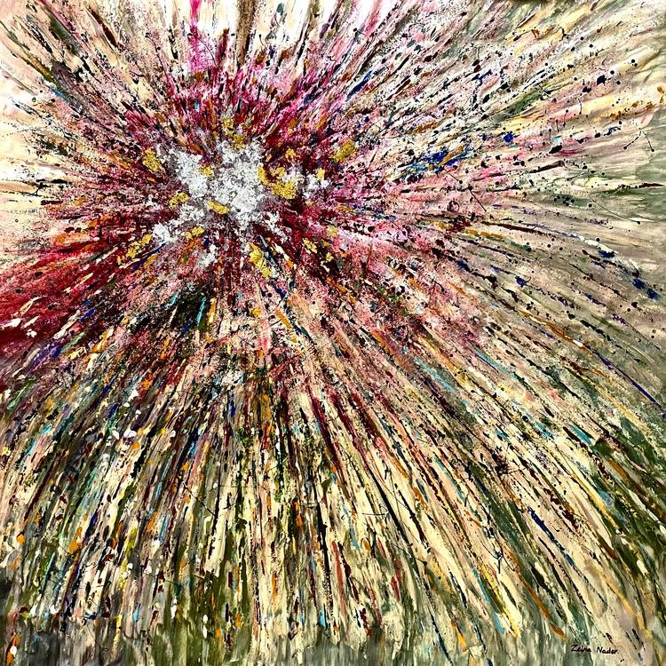 Supernova Image of your art work hanging on the wall