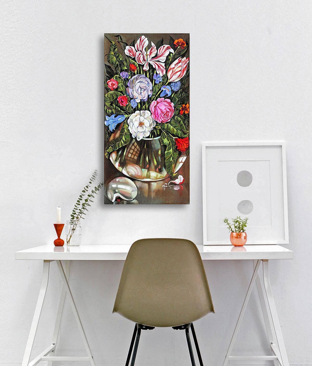 SERIES ART DECO, Flowers for Lempicka