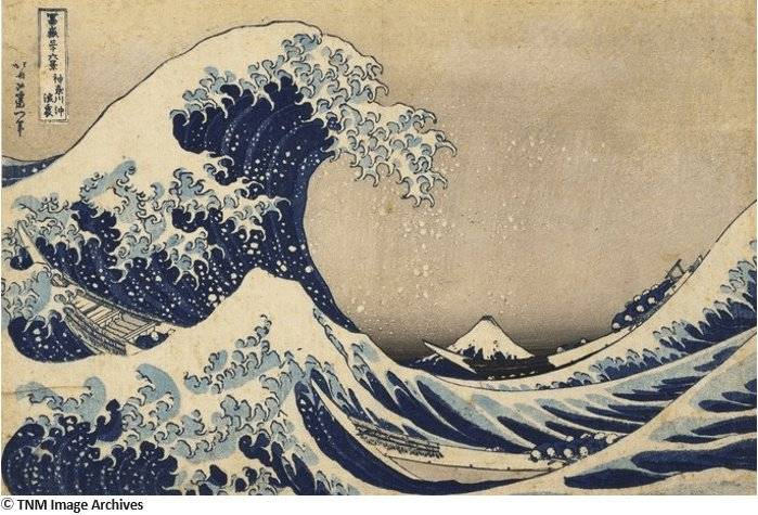 Thirty-six Views of Mount Fuji:The Great Wave off Kanagawa