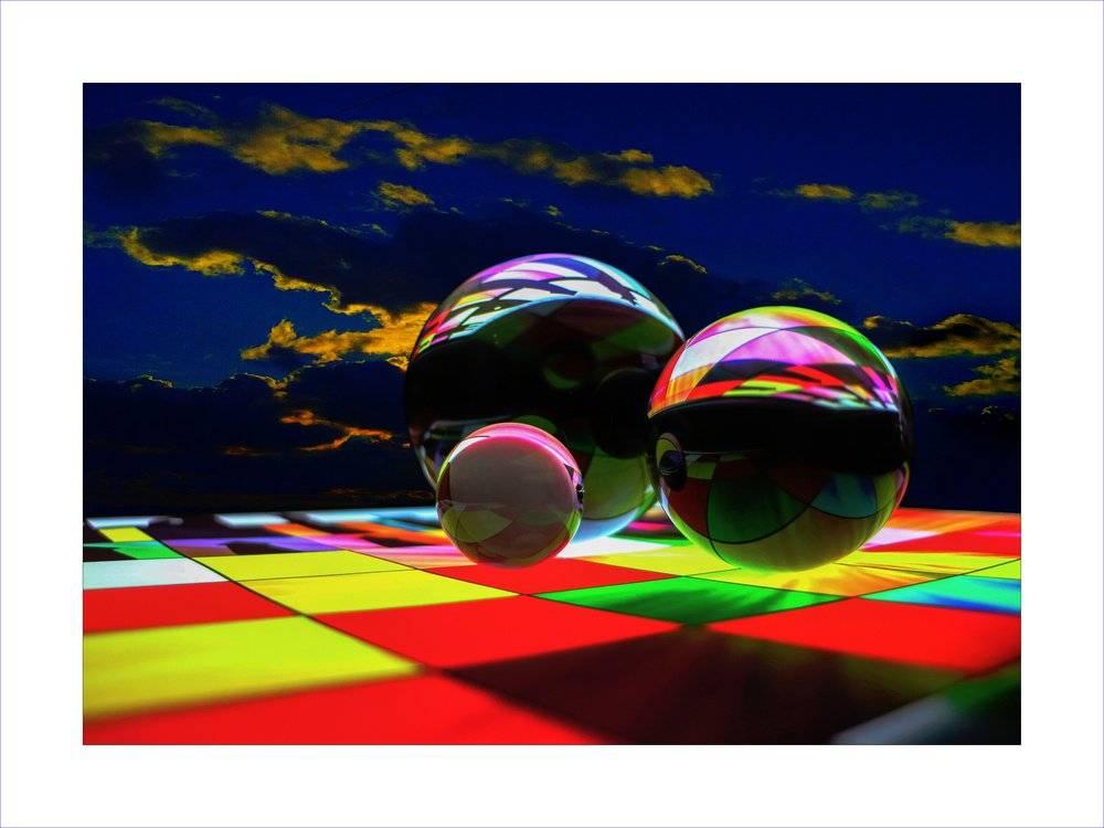 Chessboard & Balls