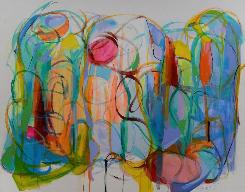 The Thread of Grace Bild Ihres Kunstwerks an der Wand