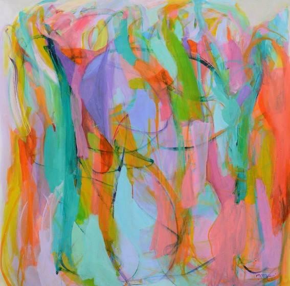 Dance Bild Ihres Kunstwerks an der Wand